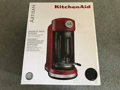 KitchenAid Artisan Magnetic Drive Blender Cast Iron Black, 5KSB5080BBK