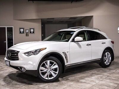 2014 Infiniti QX70 Base Sport Utility 4-Door 2014 Infiniti QX70 AWD Technology Package 1 Owner Premium Package 360 Camera Sys