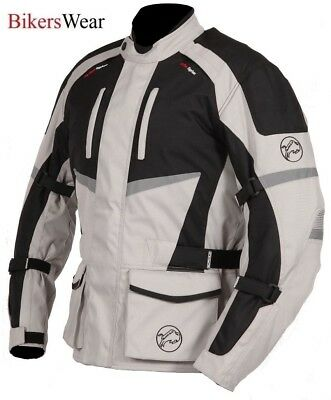 Buffalo Alpine Stone Textile Waterproof Motorcycle / Scooter Touring Jacket