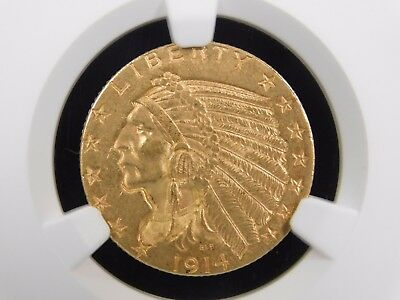 1914-D $5 Gold Indian, NGC-MS61! GOOD DATE!   (005)
