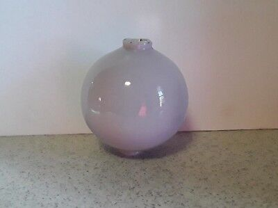 Lightning Rod Ball Lavendor Milk Glass Roof  Old Antique Cabin Home Decor