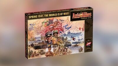 AVALON HILL GAMES  Axis And Allies Anniversary Edition Game PRESALE Ships 10/20