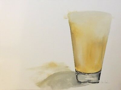 "Gallery Displayed ""On Tap"" Original Signed lori clark Oil 18 x 24 2"" Deep Canvas"