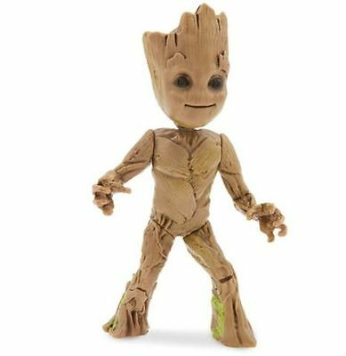 DISNEY Store GUARDIANS of the GALAXY Vol 2 BABY GROOT Wind Up Toy Figure
