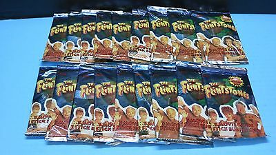 18 Sealed  1993 The Flinstones Topps  Packs  5 Cards Per Pack No Box Movie Card