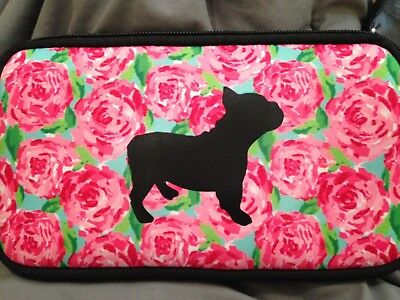 BOSTON TERRIER make up bag or small purse CUSTOM MADE one of a kind
