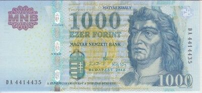 Hungary Banknote P197 1.000 1,000 1000  Forint 2010, Unc