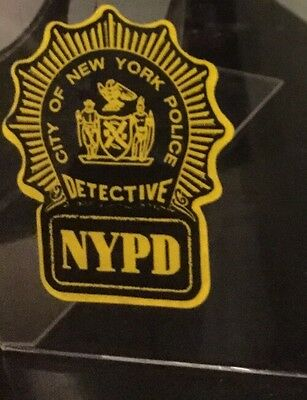 """NYS  NY Detective Police InWindshield """"Real"""" Decal  **Others Available"""