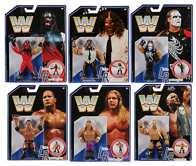 WWE Retro Series 2 Figure Set - Mattel - Brand New - Sealed