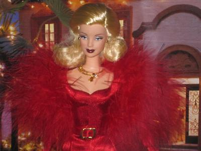 2001 Hollywood Cast Party Red Gown Barbie Doll  Collector Edition #50825  NRFB