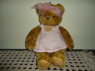 Hallmark Artist Mary Hamilton 50th Anniversary From Mary with Love Bear 17 inch