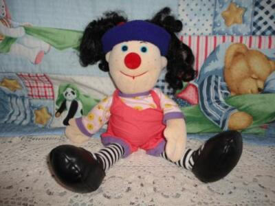 Big Comfy Couch LOONETTE Clown Stuffed Doll LARGE 22 Inch 1995