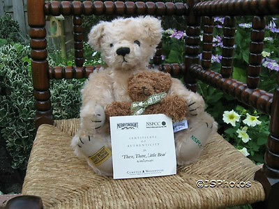 Merrythought UK There, There Little Bear NSPCC Mohair