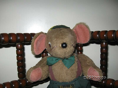 Harrods Original Vintage Mouse Collectible Very Old