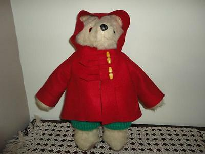Old Vintage Paddington Bear 1974 Handmade Gabrielle UK 18 inch Made in England