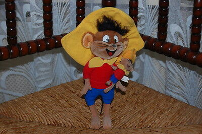 Vintage Speedy Gonzales with his Baby Son GMD Waterloo Belgium 25.5cm RARE Doll
