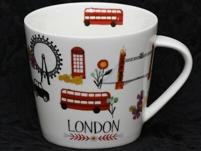 GRACE'S TEAWARE LONDON V Shape China Mug