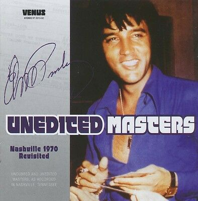 Elvis Collectors CD - Unedited Masters - Nashville Revisited 1970