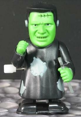 New With Tag Frankenstein Wind-Up Walker Halloween Toy