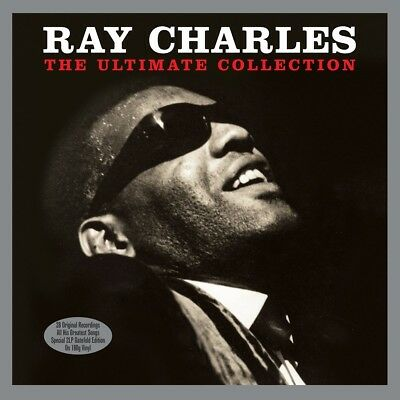Ray Charles - The Ultimate Collection (2LP Gatefold 180g Vinyl LP) NEW/SEALED