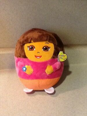 Dora the Explorer Beanie Ballz from TY, Large 8 Inch Tall