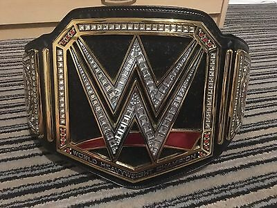 WWE Championship Replica Belt-Real Leather-4mm Plates-100% Official