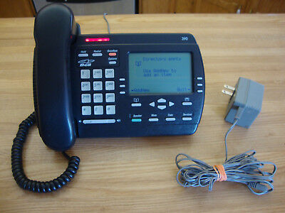 Vintage Aastra Charcoal Vista 390 Desk Telephone Made In China