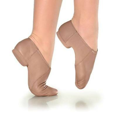 JZ45A & JZ45AC Adult or Child Suede Sole Jazz Shoe by: So Danca