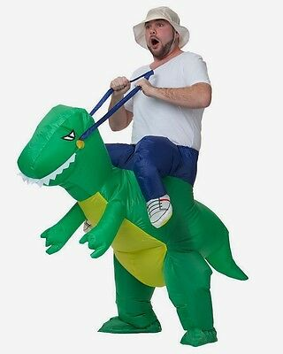 Adult Unisex Inflatable Dinosaur Blow Up Costume Dinosaur Costume Hen Stag