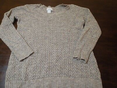 Oh Baby By Motherhood Light Weight Sweater Size L