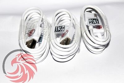 3x OEM Samsung Rapid Charge Micro USB Cable Charging Cord For Android Phones