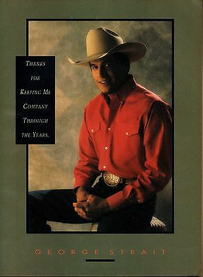 Lot of 2 George Strait Clipping 5 Pages