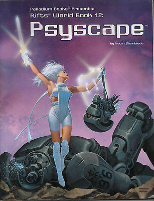 RIFTS WORLD BOOK 12: PSYSCAPE  -  Kevin Siembieda   -  2001