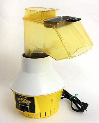 Vtg Wearever Yellow Popcorn Pumper Hot Air Popper Butter Melter Original 73000