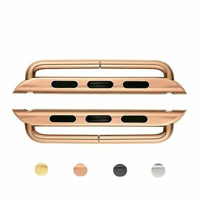 MIFA 42mm Apple Watch Series 1 and 2 Lugs Adapter Connector Clasp - Rose Gold