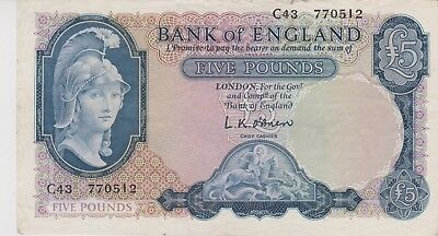 United Kingdom £5 note