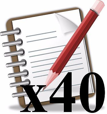 Article Writing Service - 40 Original Articles - 400 Words Each - Package Deal