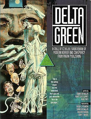 DELTA GREEN: A Call of CTHULHU Sourcebook of Modern Horror and Conspiracy  Pagan