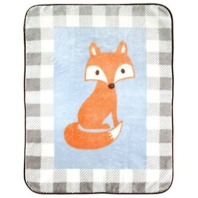 """Luvable Friends Character High Pile Blanket 30"""" x 36"""""""