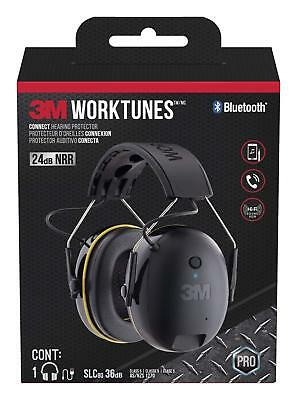 3M 90543-4DC WorkTunes Connect Hearing Protector with Bluetooth Technology New