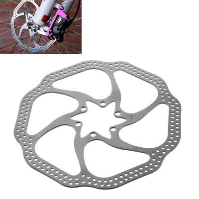 180mm Cycling Bicycle For MTB Mountain Stainless Steel Brake Disc Rotor +6 Bolts