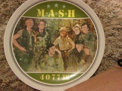 M*a*s*h* 4077 Commemorative Collectible Limited Edition Numbered Plate