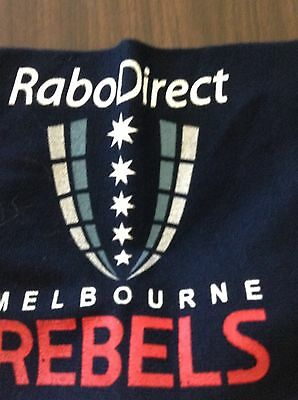 Melbourne Rebels Rubgy Union 2011 First Season Scarf New with tags