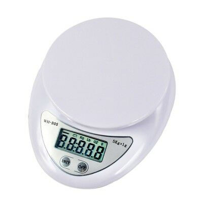 Electronic 5Kg x1g Digital  Scale LCD Kitchen Food Diet Weight Portable