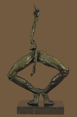 Bronze Sculpture Statue Abstract Modern Art Edition Museum Quality Signed BB