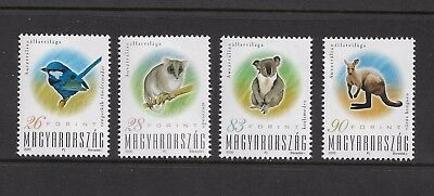 HUNGARY - mint 2000 Australian Animals, No.2, set of 4, MNH MUH