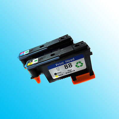 2x for HP88 Compatible for HP 88 Officejet Pro K8600 8600 Printer C9381A C9382A