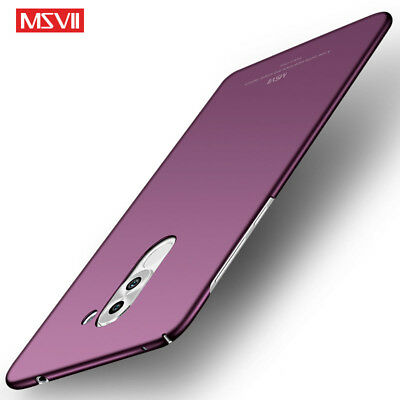 MSVII ShockProof Case For Huawei Honor 6X Slim Hard Back Matte Protective Cover