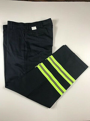 New Red Kap Industrial Work Pants Hi Vis 100% Cotton Enhanced Visibility PC20DN