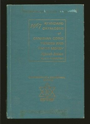 J E Charlton 1967 Standard Catalogue of Canadian Coins Token & Paper Money